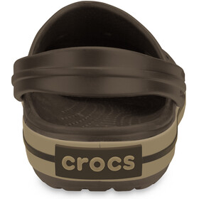 Crocs Crocband Clogs espresso/khaki